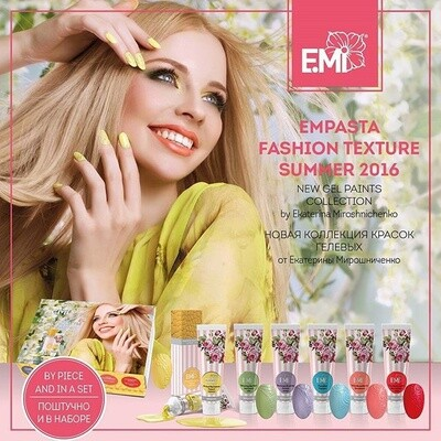 Set EMPASTA Fashion Texture Summer 2016