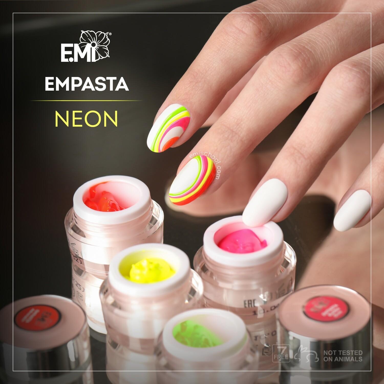 EMPASTA SET NEON, 4x 2 ml.