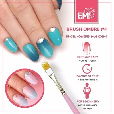 Brush Ombre #4
