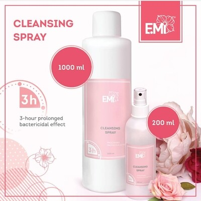 Cleansing spray, Antibacterial disinfectant 200/1000 ml