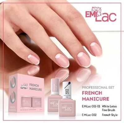Set E.MiLac French Manicure