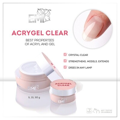 Acrygel Clear, 5/15/50 g.