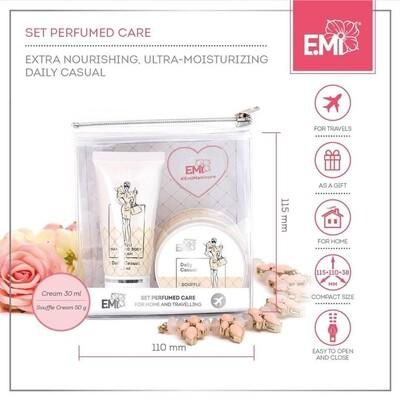 Set Perfumed Care. Extra-Nourishment and Ultra-Moisturizing True Romance