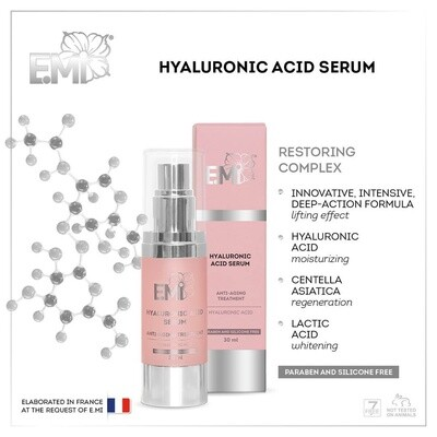 Hyaluronic Acid Serum, 30 ml