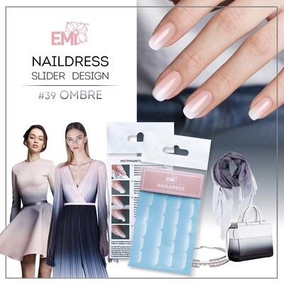 Naildress Slider Design #39 Ombre