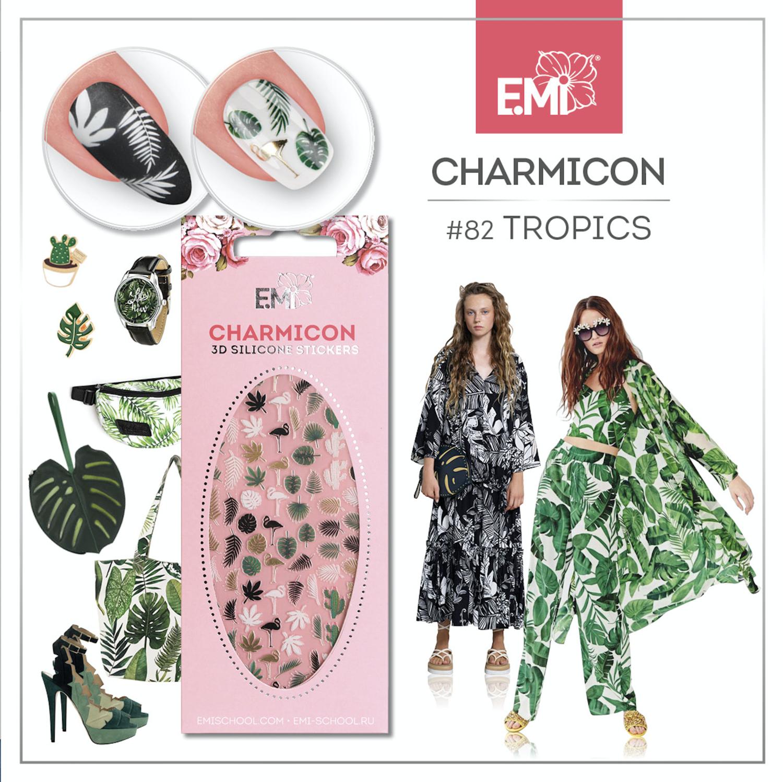 Charmicon Silicone Stickers #82 Tropics