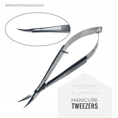 Manicure tweezers