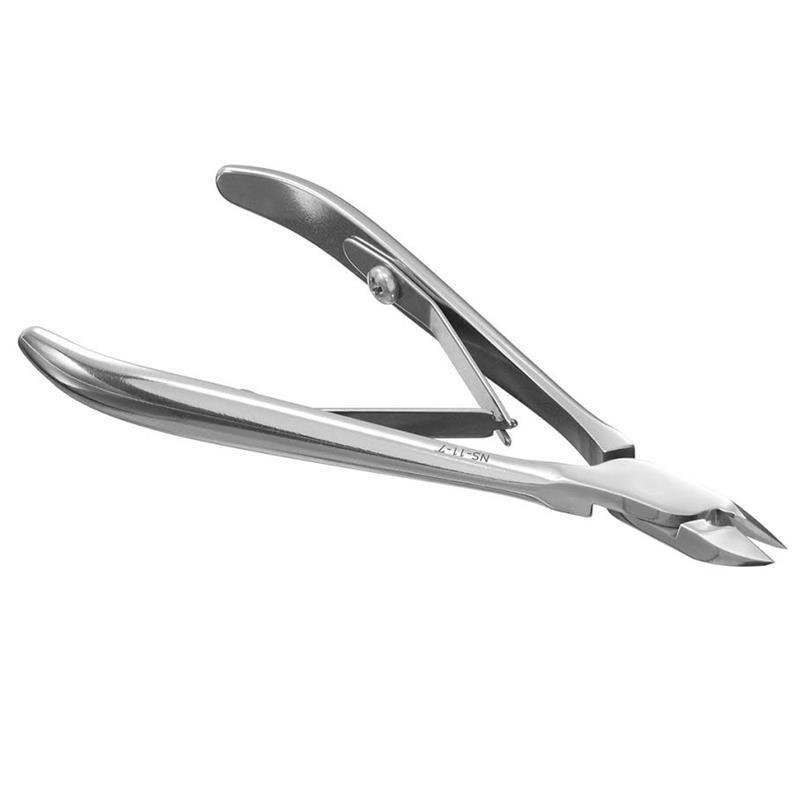 Staleks Pro Cuticle Nippers Full Jaw 0.27 Inch 7 mm