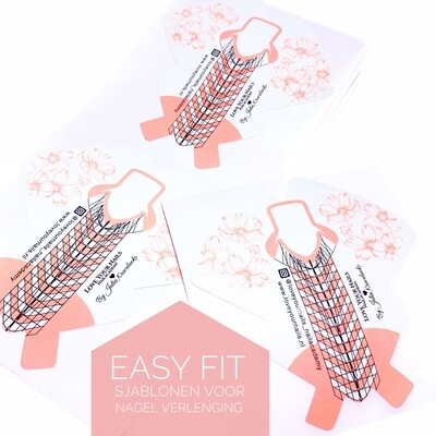 EASY FIT Nail forms, 100 pcs