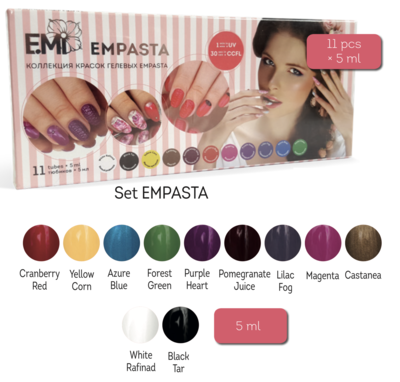 Gel paints set EMPASTA One Stroke