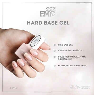 E.MiLac Hard Base  9/15/30/100 ml.