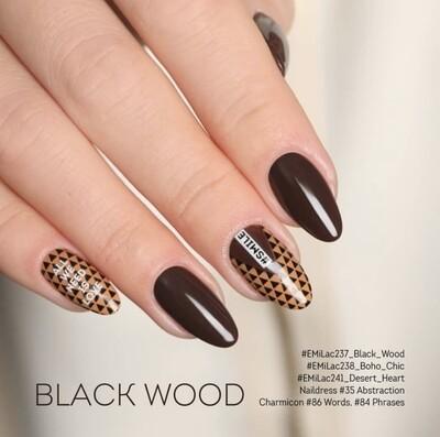 E.MiLac BC Black Wood #237, 9 ml.