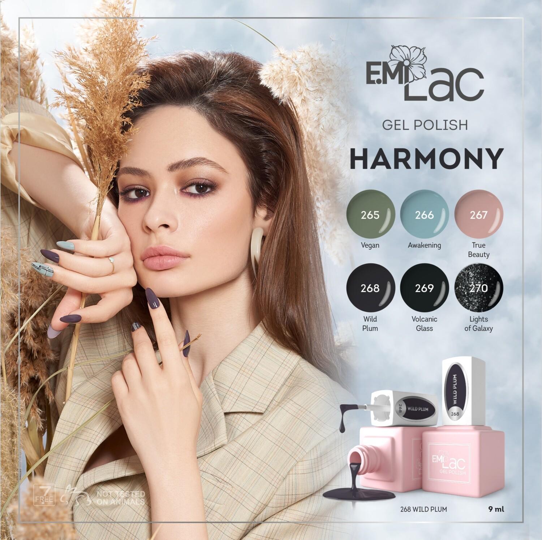 E.MiLac Set Harmony, 9 ml.