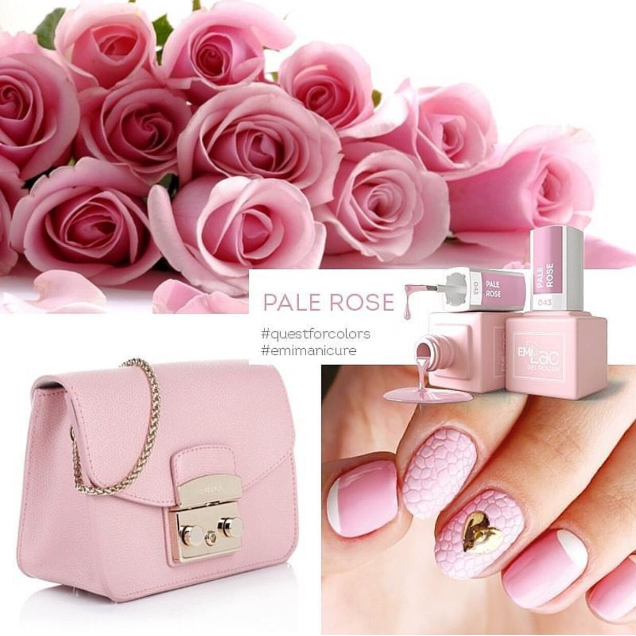 E.MiLac SE Pale Rose #043, 9 ml.