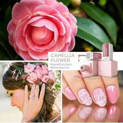 E.MiLac SE Camellia Flower #038, 9 ml.