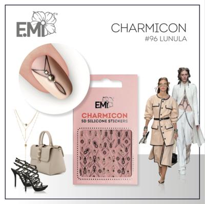 Charmicon Silicone Stickers #96 Lunula