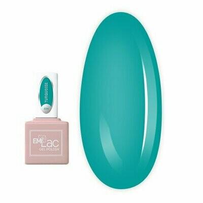 E.MiLac Turquoise #034, 9 ml.