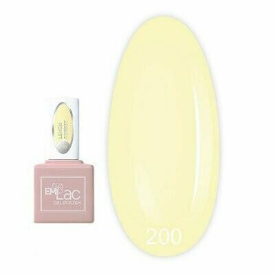E.MiLac PR Lemon Sorbet #200, 9 ml.