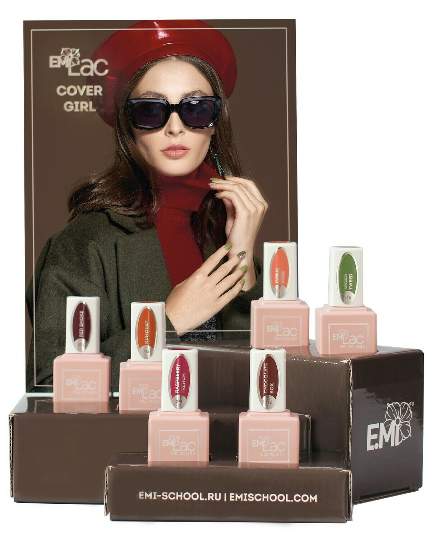 Set E.MiLac Cover Girl, 6x 9ml