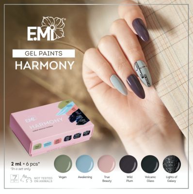 Gel Paints Set Harmony