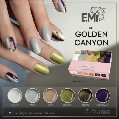 Gel Paints Set Golden Canyon