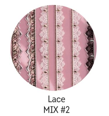 Charmicon Silicone Stickers Lace MIX #2