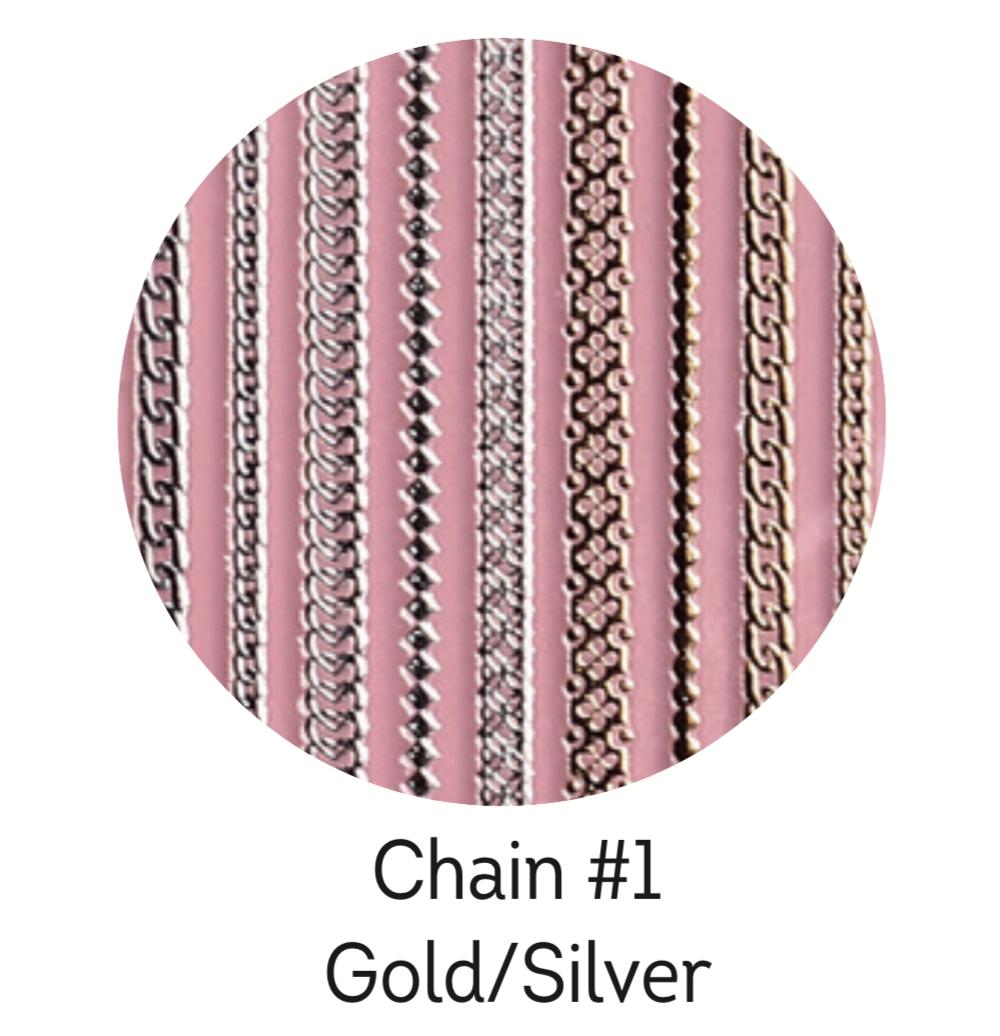 Charmicon Silicone Stickers Chain #1