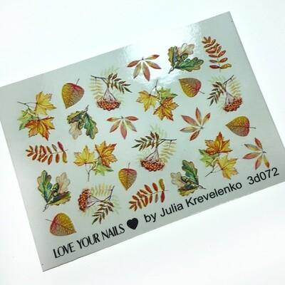Leaves 3D072