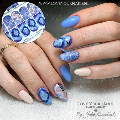 Blue marble stone 3292