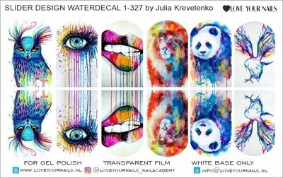 Watercolor animals 1-327w