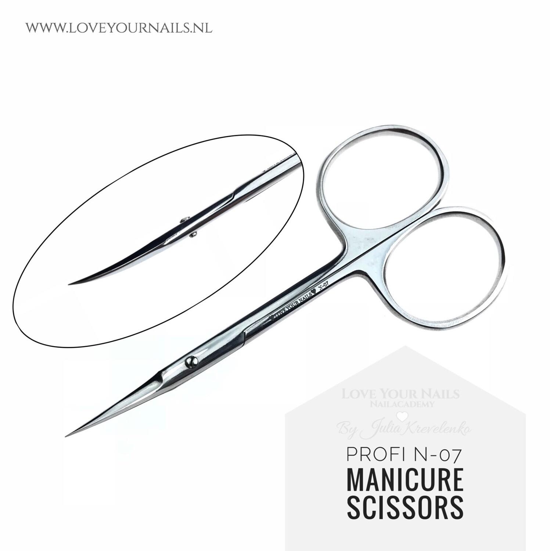 Manicure scissors PROFI N-07