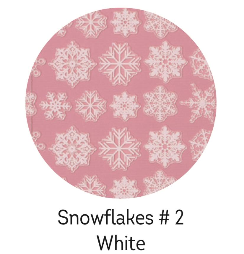 Charmicon Silicone Snowflakes #2 White