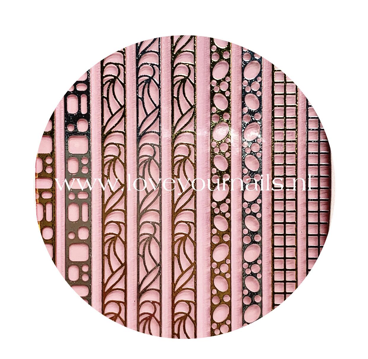 Charmicon Silicone Stickers Jewelry Gold/Silver #3