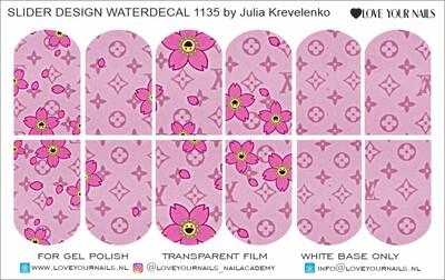 Pink fashion print 1135