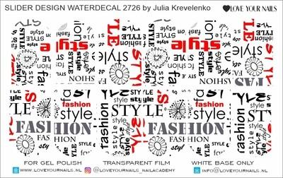 Fashion style 2726