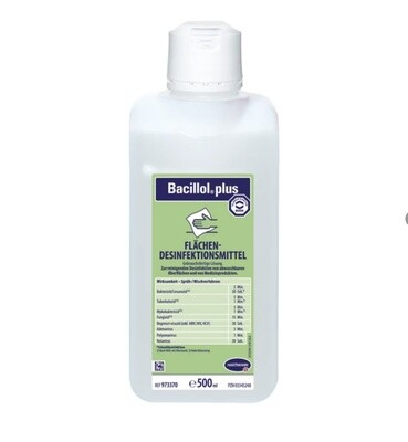 Bacillol plus surface disinfection, 1 Liter
