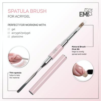 Spatula Brush for acrygel