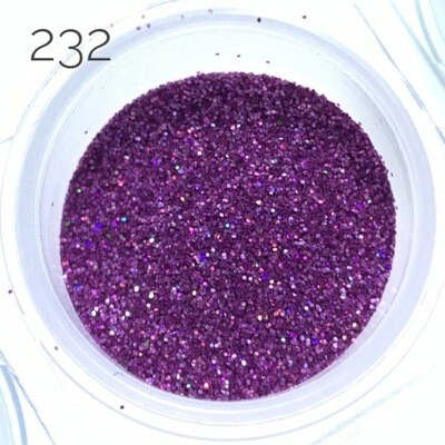 Holographic glitter dust #232