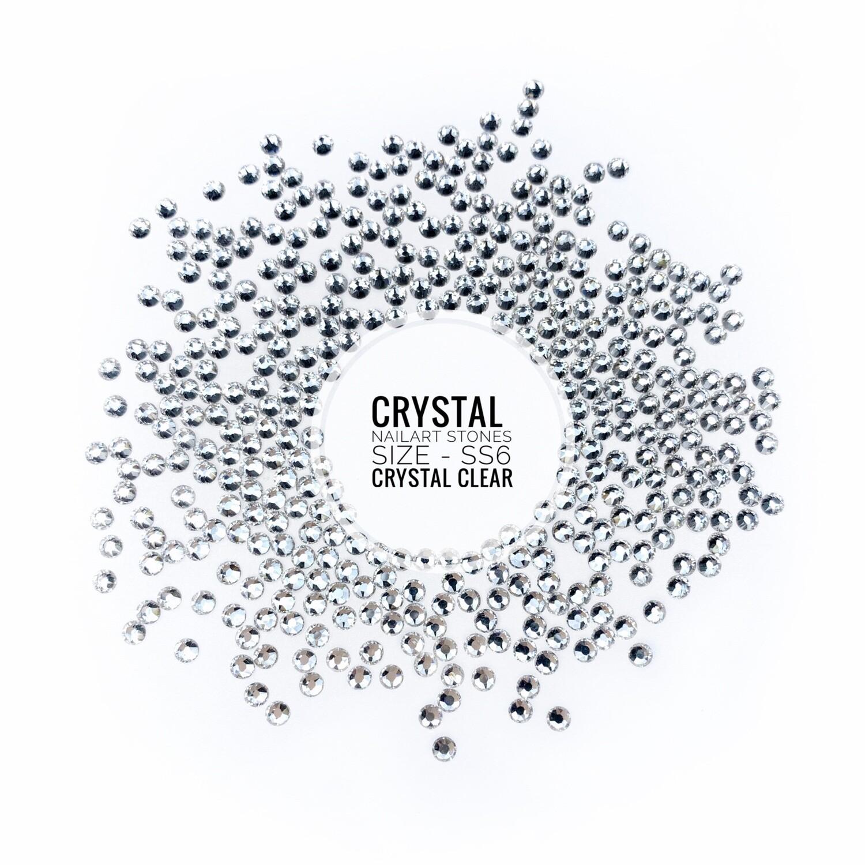 Crystal Stones Clear, 100 pcs