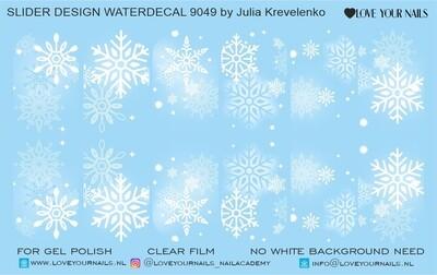 Snowflakes white 9049