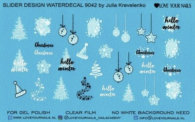 Christmas Tree and Balls 9042