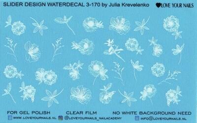 White flowers 3-170