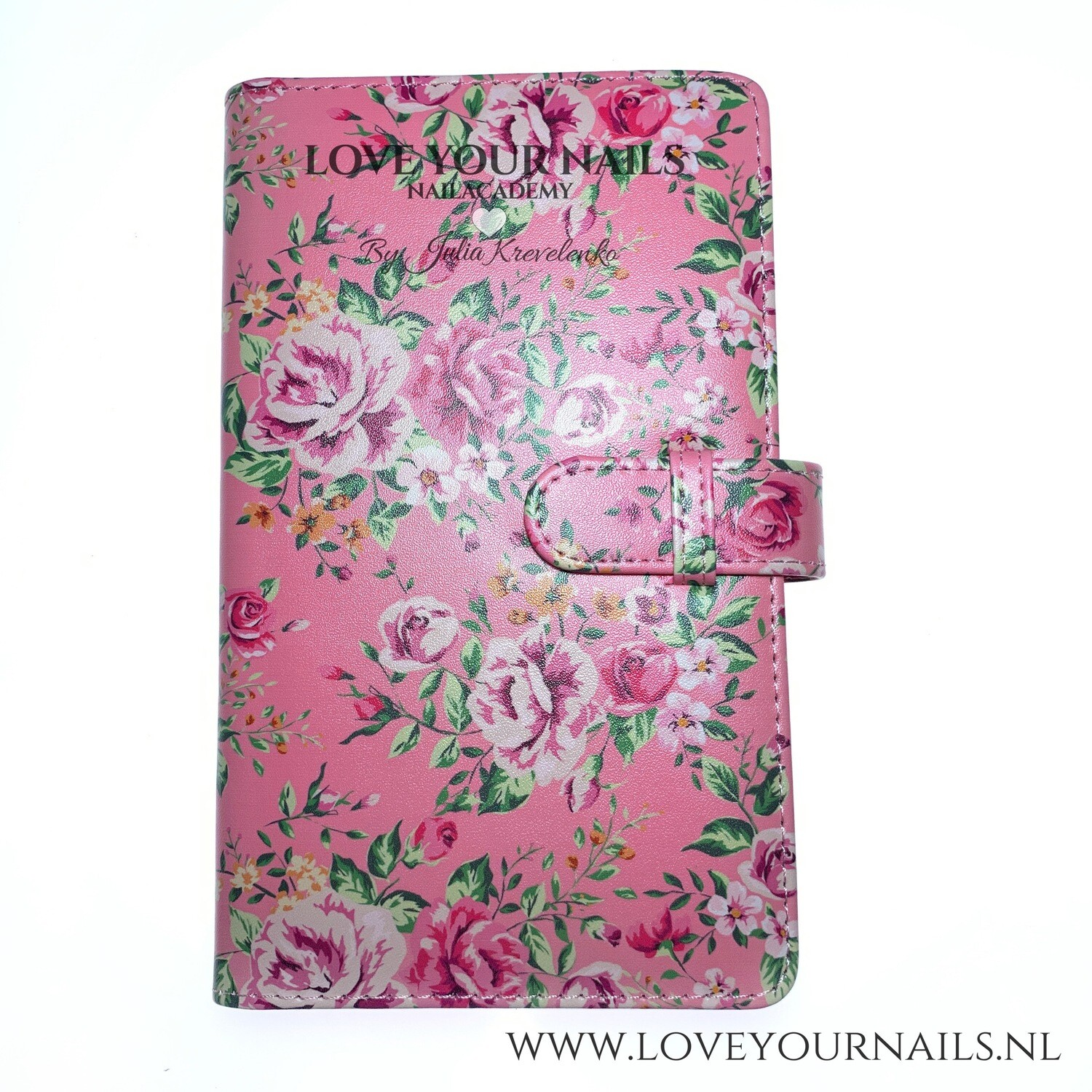 Soft cover album for decals, pink