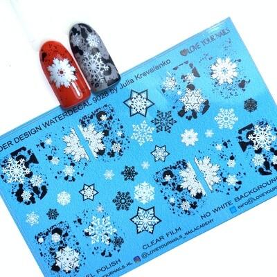 Snowflakes 9028