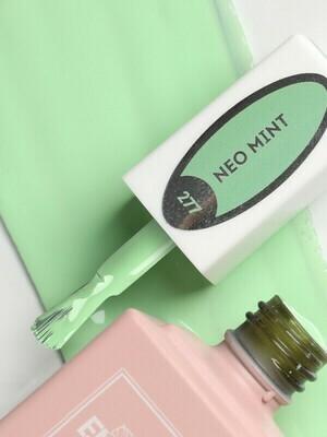 E.MiLac Neo Mint #277 – inspiring mint shade.