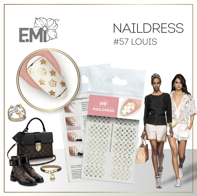 Naildress Slider Design #57 Louis