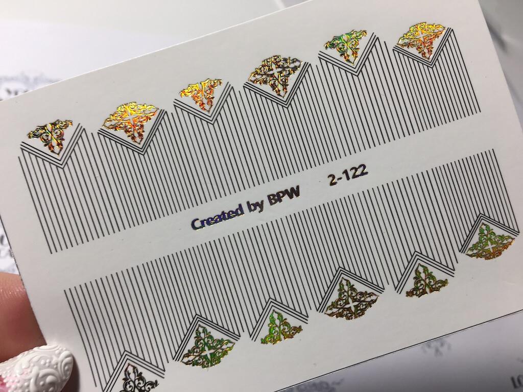 Stripes with lunula 2-122