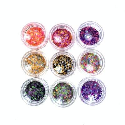 Kamifubuki mix of wel rolly-polly set 1, 9 pcs