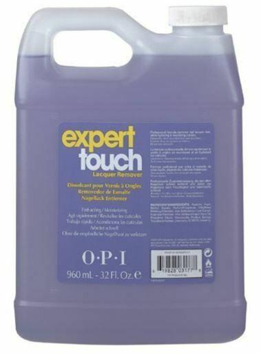 Nagellakremover expert touch,960 ml.