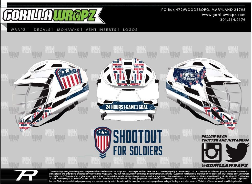 2016 Shootout for Soldiers Wrap SFS